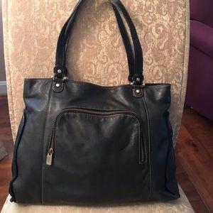 Liz Claiborne Leather Tote. Fair Condition. Nice!